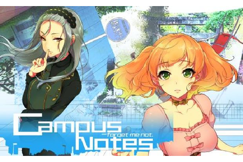 Campus Notes - forget me not. Free Download « IGGGAMES