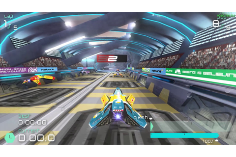 Wipeout Pulse on PC - All Tracks - PPSSPP 0.9.9.1 - 1080p ...