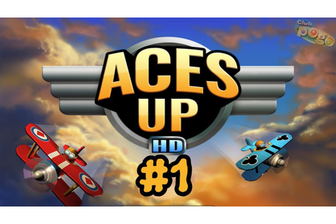 Pogo Games ~ Aces Up HD #1 - YouTube