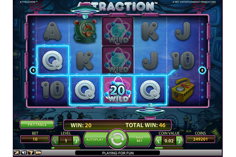Attraction Slot Machine Game - Free Play Online ...