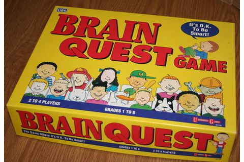 Amazon.com: Brain Quest Game: Game: Toys & Games