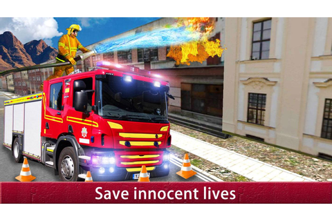 US City Rescue Fireman Simulator-Fire Brigade Game for ...