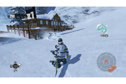 Shaun White Snowboarding - PC GamePlay (HD) - YouTube