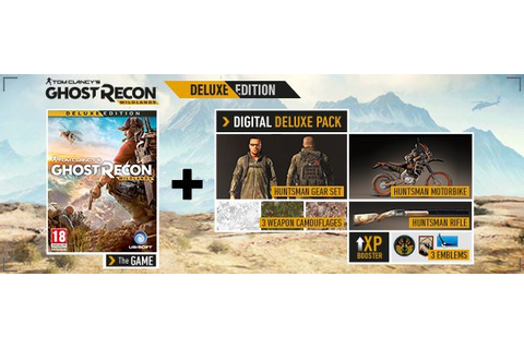 Tom Clancys Ghost Recon Wildlands Deluxe Edition | PC Game ...