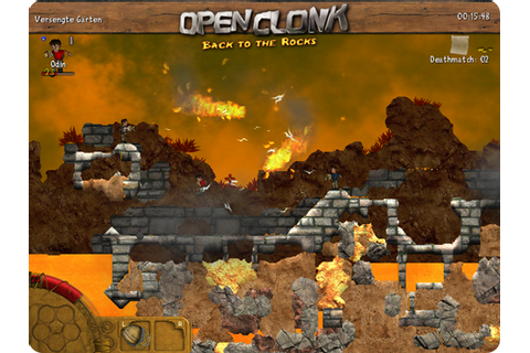 OpenClonk is a free multiplayer action game where you ...