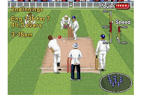 Brian Lara cricket '96 - Symbian game. Brian Lara cricket ...