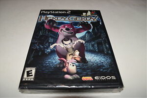 Herdy Gerdy Sony Playstation 2 PS2 Video Game New Sealed ...