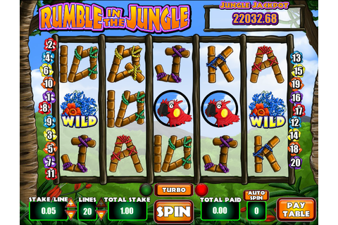 Rumble In The Jungle Slots Review - Online Slots Guru