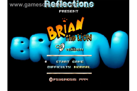 Brian the Lion - Commodore Amiga CD32 - Games Database