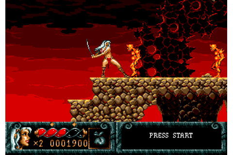 Blades of Vengeance (1993) by Beam Software Mega Drive game