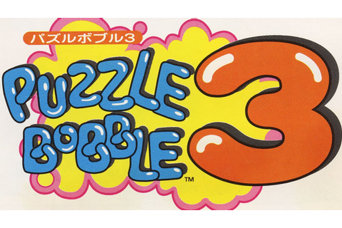 Classic Game Room - PUZZLE BOBBLE 3 review for Sega Saturn ...