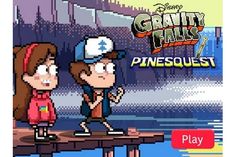 Gravity Falls - PinesQuest (pt. 1) - YouTube