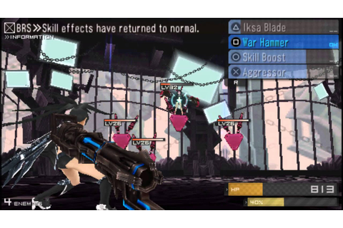 Black Rock Shooter The Game (US): Nafe Boss fight - YouTube