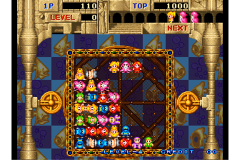 Gururin, Arcade Video game by Face (1994)