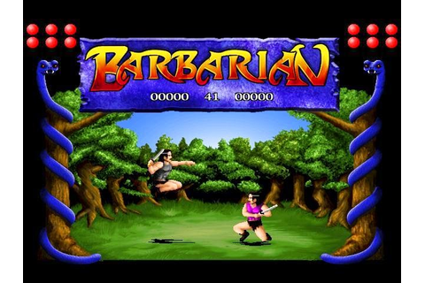 FRGCB - Finnish Retro Game Comparison Blog: Barbarian: The ...