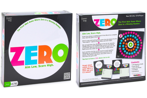 ZERO Q&A Board Game Only $5 (Regularly $15) - Hip2Save