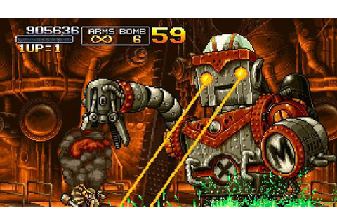 Metal Slug Anthology on Qwant Games