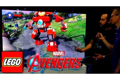 LEGO Marvel's Avengers Game-Play - Barton Farm, HulkBuster ...