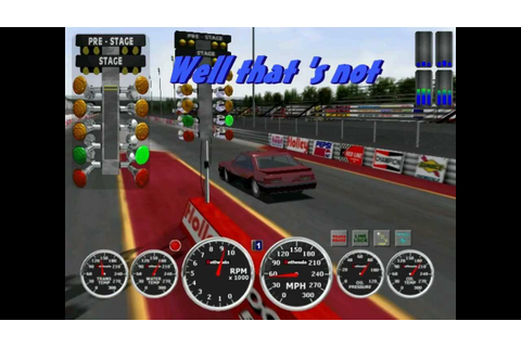 ihra drag racing game for the pc - YouTube