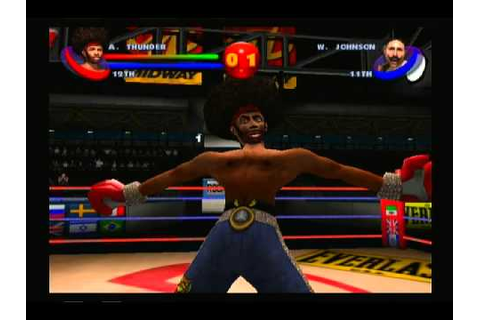 A Crossover Glance at Ready 2 Rumble Boxing: Round 2 (PS2 ...
