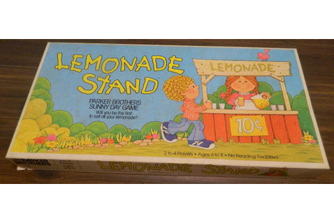Lemonade Stand (1979) Board Game Review and Rules | Geeky ...