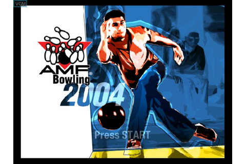 AMF Bowling 2004 for Microsoft Xbox - The Video Games Museum