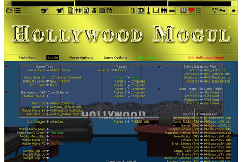 Hollywood Mogul on Qwant Games