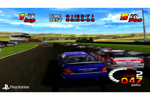 [PS1] TOCA 2 Touring Cars Gameplay with ePSXe (Full HD ...