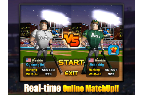 App Shopper: Homerun Battle 3D for iPad (Games)