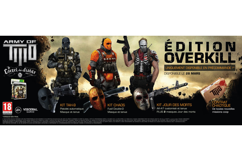 Army of Two - le Cartel du Diable Edition Overkill sur ...