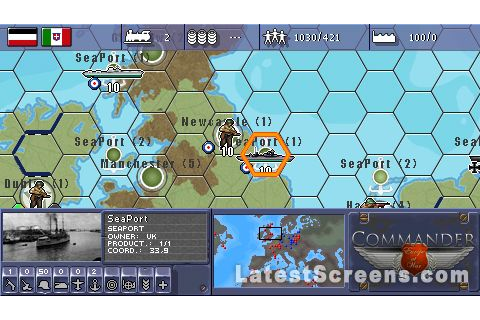All Military History Commander: Europe at War Screenshots ...