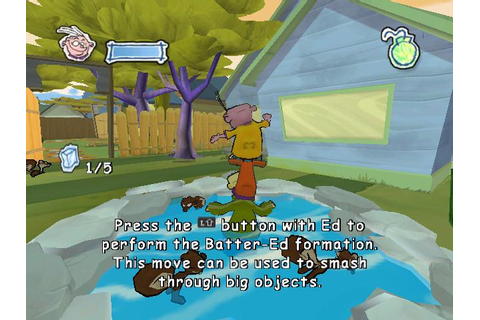 Ed, Edd n Eddy: The Mis-Edventures Download (2005 Puzzle Game)