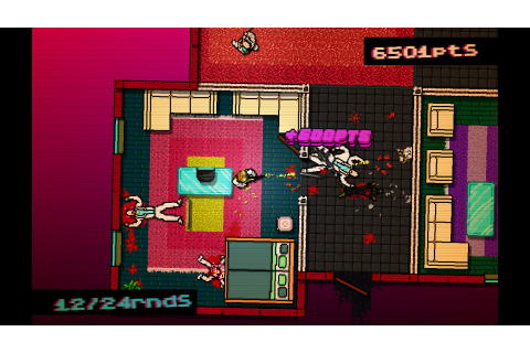 Hotline Miami drives the art of violence