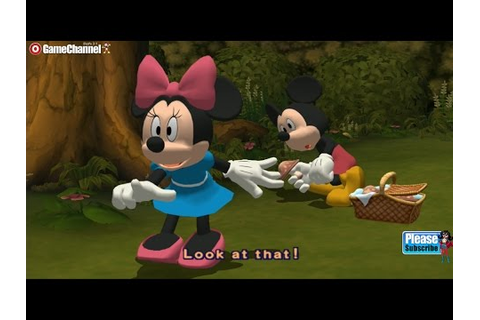 Disney's Hide Sneak - Mickey And Minnie Mouse Adventure ...
