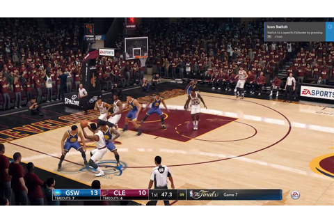 NBA Live 18 DEMO: Cavs vs. Warriors Gameplay (1st Quarter ...