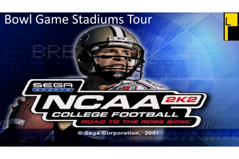 NCAA College Football 2K2: Road to the Rose Bowl Bowl ...