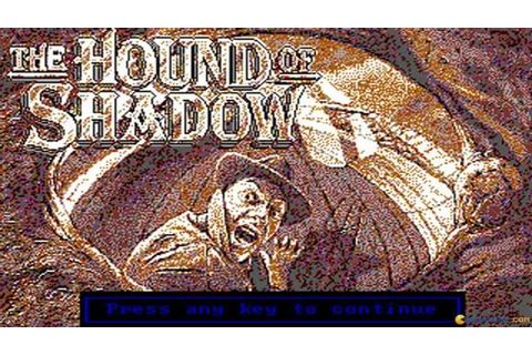 The Hound of Shadow gameplay (PC Game, 1989) - YouTube