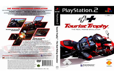Tourist Trophy - The Real Riding Simulator (PS2 Sistema ...