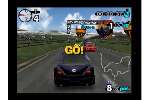 Beetle Adventure Racing! Screenshots for Nintendo 64 ...