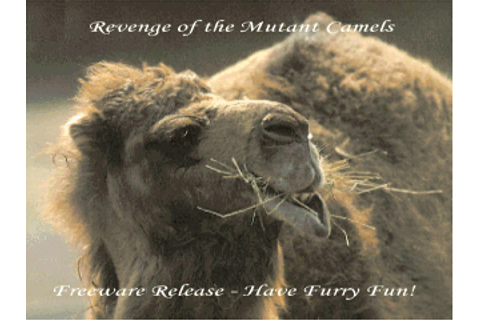 Download Revenge of the Mutant Camels | DOS Games Archive