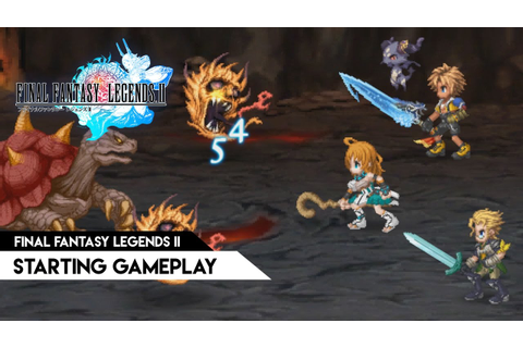 Final Fantasy Legends II (JP) - Starting gameplay - YouTube