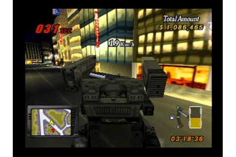 Playstation - Runabout 2 mission #7 GUNHED - YouTube
