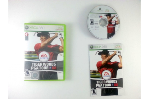 Tiger Woods PGA Tour 08 game for Xbox 360 (Complete) | The ...