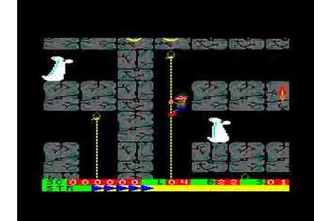 Roland on the Ropes on the Amstrad CPC - YouTube
