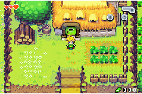GAmESdOwNlOaD: The Legend Of Zelda The Minish Cap