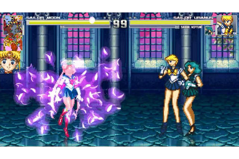 SailorMoon Mugen Game - YouTube