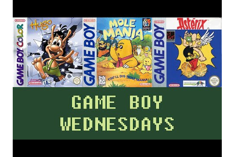 Game Boy Wednesdays #1 - Hugo: The Evil Mirror / Mole ...