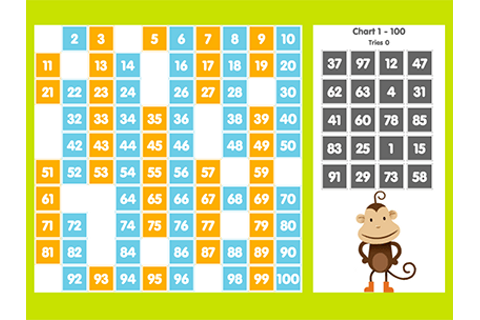 Number Chart Game | ABCya!
