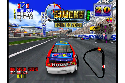 Iain's blog: Daytona USA 2: Super Model emulator