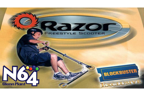 Razor Freestyle Scooter - Nintendo 64 Review - HD - YouTube